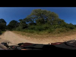 GOPro Max 360 Test - 360˚ Video From My Ural, In The Woods