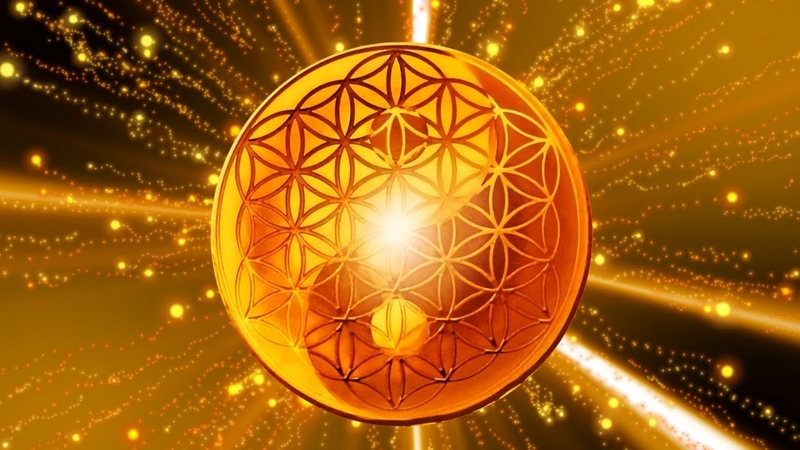 888 Hz Sacred Geometry Attract Infinite Abundance of Love and Money Connection with the Source