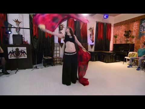 Alex el Gato - Adio Kerida (Yasmin Levy) - tribal fusion with fan veils