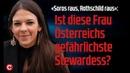 «Soros raus, Rothschild raus» Ist diese Frau Österreichs gefährlichste Stewardess