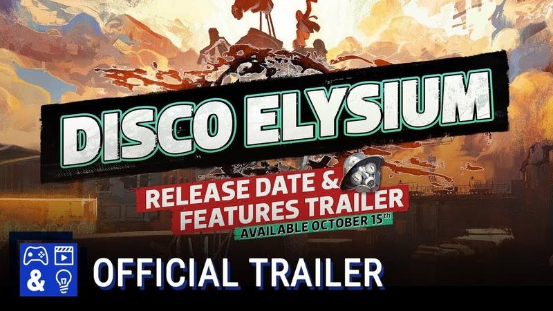 DISCO ELYSIUM Release Date Features Trailer