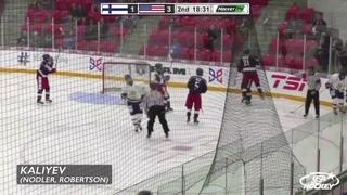 Кубок Глинки-Гретцки 2018. Группа В. США - Финляндия 6:2 (2:1, 1:1, 3:0)