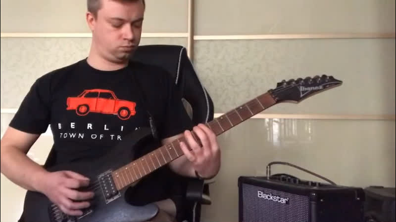 Guitar cover Muse Psycho