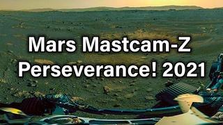 Mars Mastcam-Z Nasa Perseverance! Первая 360-градусная панорама Mars!