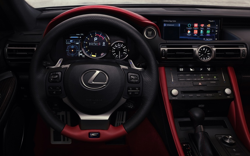 Обновленный Lexus RC F и трековая версия из карбона, изображение №13