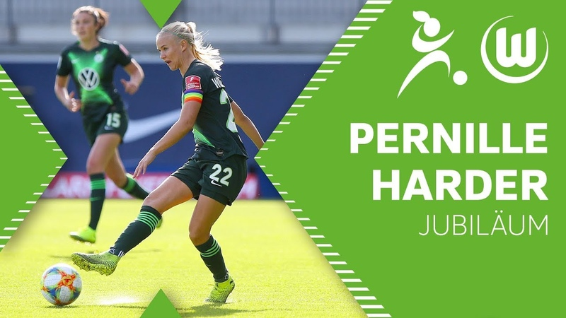 92 Tore in 100 Spielen Pernille Harder on Fire VfL Wolfsburg Frauen