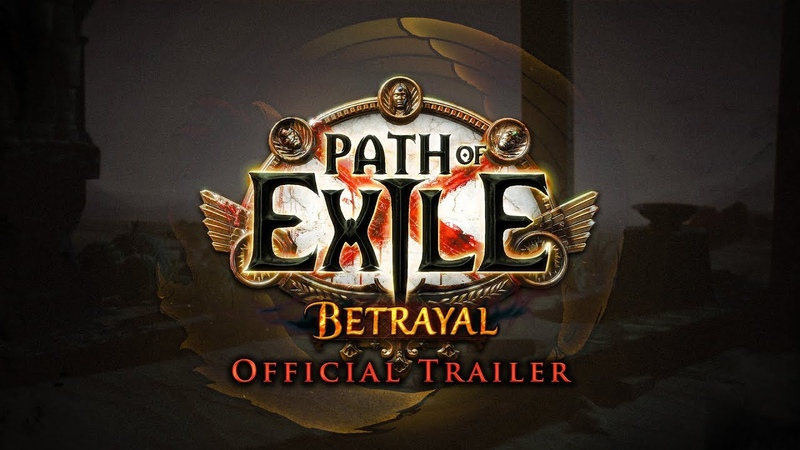 Path of Exile Betrayal Official Trailer
