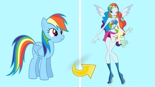 MLP Rainbow Dash as Winx Club