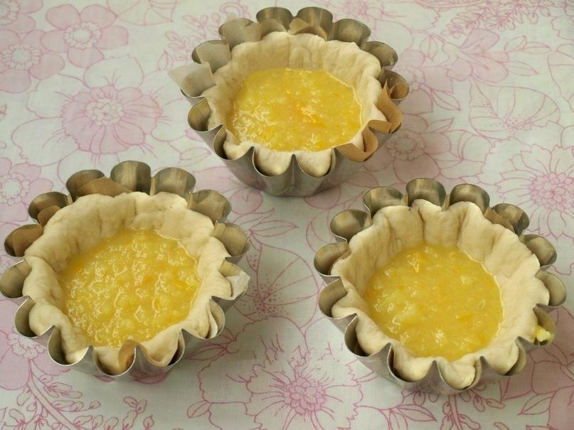 Булочки с лимонной начинкой, изображение №6