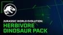Jurassic World Evolution: Набор Травоядных Динозавров Запуск Трейлера