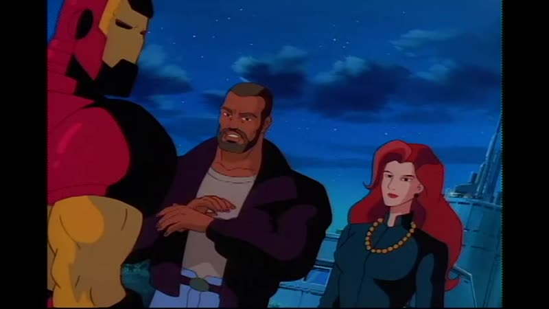 Сезон 02 Серия 02 Огонь и вода Железный человек 1994 1996 Iron Man Fire and Rain