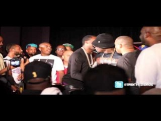 50 Cent Pushes Trav (Former G-Unit Artist) After Meek Mill Brings Him On Stage (Mixshow Live 4: ATL)