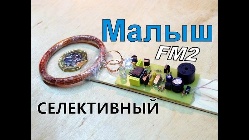 Самодельный металлоискатель - селективный металлодетектор Малыш-FM