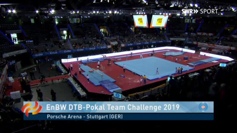 Женский командный финал в Штутгарте на EnBW DTB Pokal 2019