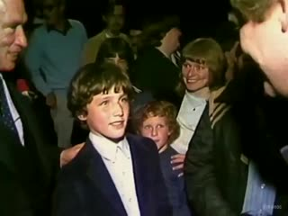 Canadian prime minister justin trudeau at age 11 after seeing return of the jedi