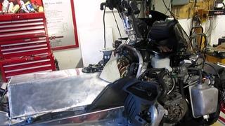 Apex Twin-turbo in dyno