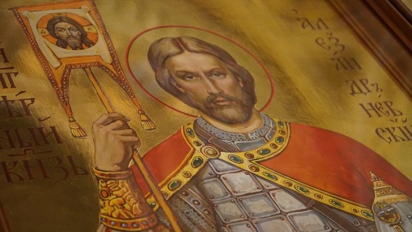 Иконы святого Александра Невского для морской пехоты РФ освятили в Санкт-Петербурге
