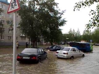 Потоп на Ленина в Урае  г.