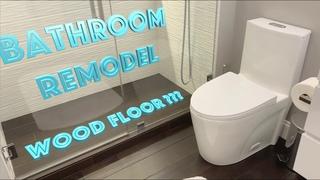 Bathroom remodel with Wooden Floor??