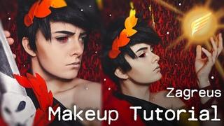 Zagreus - Hades Game Cosplay Makeup