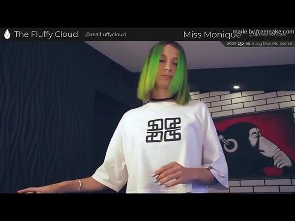 Miss Monique The Fluffy Cloud 2020 Virtual Burning Man