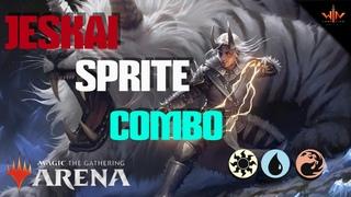 Бюджетная MTG ARENA колода Sprite Combo Magic: the Gathering wincondition junior