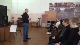 встреча с русским писателем, участником Афганской войны - Николаевым Виктором Николаевичем.