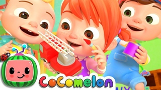 The Car Color Song   CoComelon Nursery Rhymes & Kids Songs