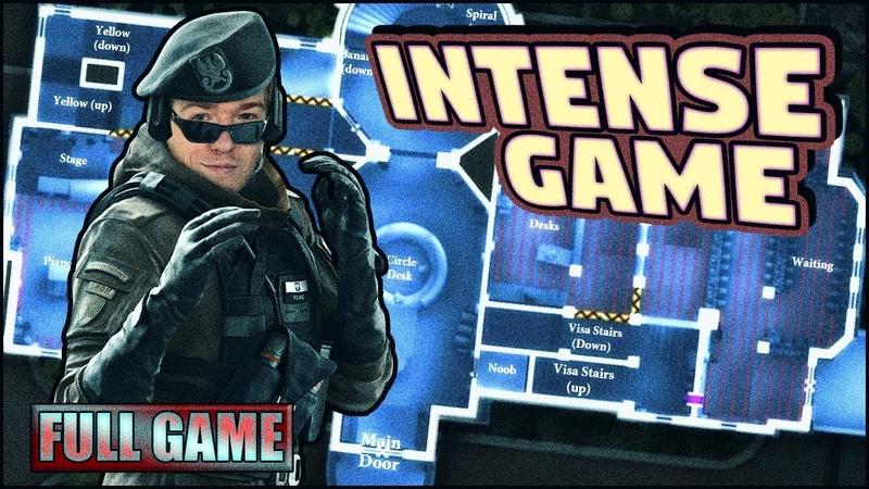 INTENSE CONSULATE GAME FULL GAME Go4 Rainbow Six Siege