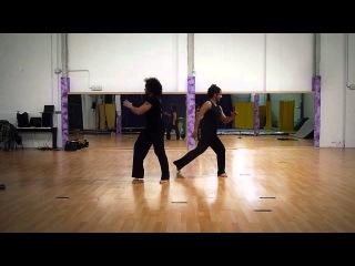 Rehearsal New Choreography // Brazilian Steps // Xandy Liberato & Reinol