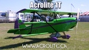 Acrolite IT triplane experimental aircraft kit ultralight aircraft in Canada