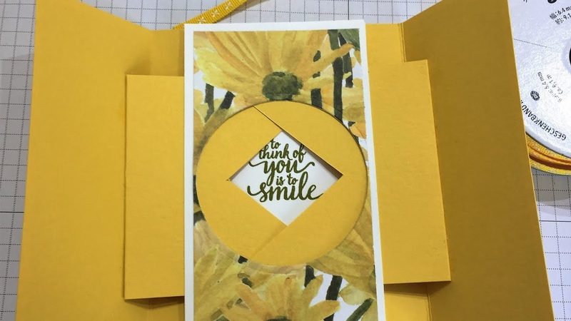 Pretty Secret Shutter Card Using Daisy Delight Stampin Up