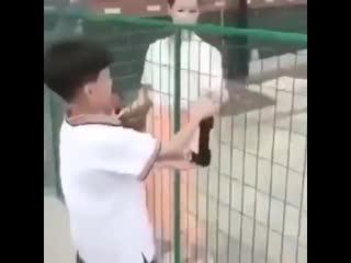 Тётя, я вам помогу!