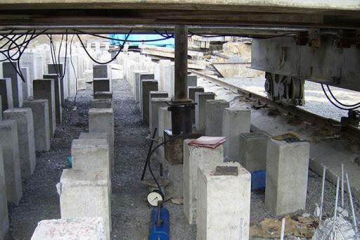 Статические испытания свай в Тобольске
