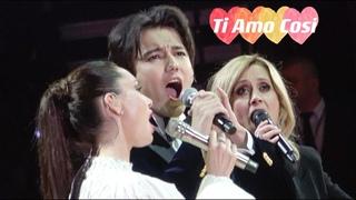 [Fancam 4K] Dimash Kudaibergen ft. Lara Fabian, Aida Garifullina - Ti Amo Così + Curtain Call