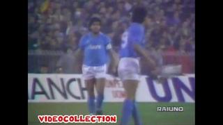 1988/89  Napoli - Juventus  3-0 (UEFA Cup 1/4 fin)