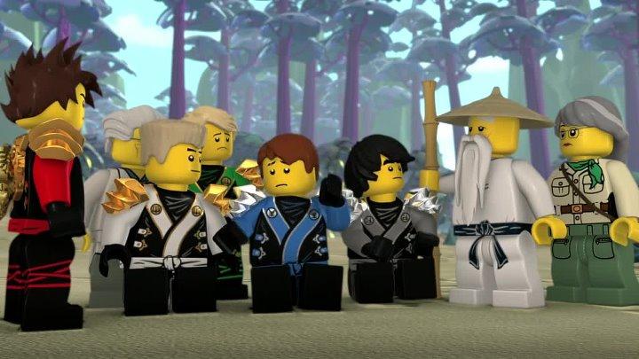 Мультфильм Лего ниндзяго 2 cезон 13 серия HD