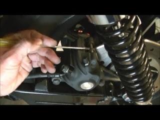 Delboy's Garage, Harley Sportster Rear Brake service