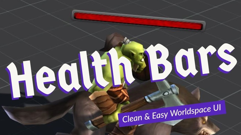 Health Bars in Unity3D - Quick, Clean, Easy
