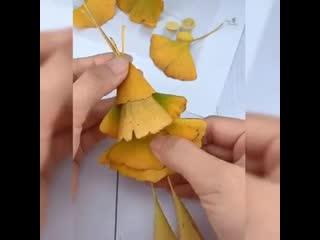 Поделки из природных материалов. Очень реалистично и забавно!