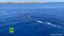 Italien: Migranten springen von NGO-Schiff, um nach Lampedusa zu schwimmen