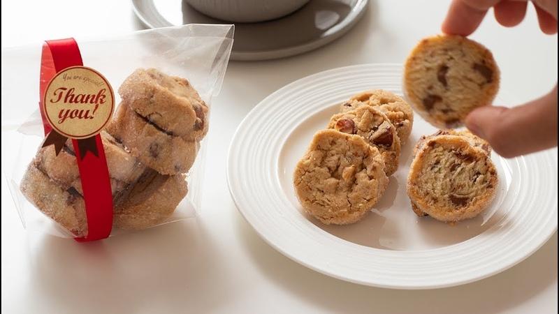 夏のクッキー缶作り 1 バターを使わずに作るアイスボックスクッキーの 12