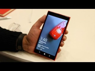 Nokia Lumia 1520 running Windows Phone 8.1