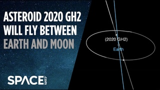 Asteroid 2020 GH2 will fly between Earth and moon