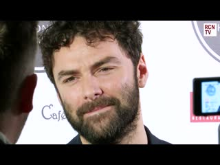 Aidan turner backstage at whats on stage awards 3.3.2019