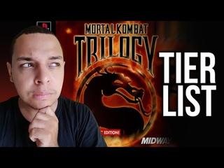 TierList - Os MELHORES de Mortal Kombat Trilogy PSONE (Assista até o final)