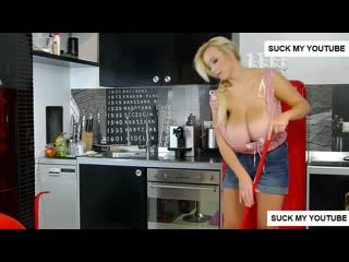 AGNETIS MIRACLE-CLEANING GIRL(big tits model)