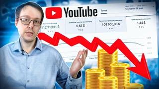 Сколько платит YouTube за 1000 просмотров в 2021 году?