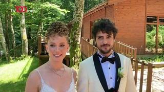 Taner Ölmez ile Ece Çeşmioğlu evlendi! İşte nikahından ilk görüntüler