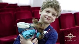 В Нижегородской области полицейские вернули ребенку похищенного щенка
